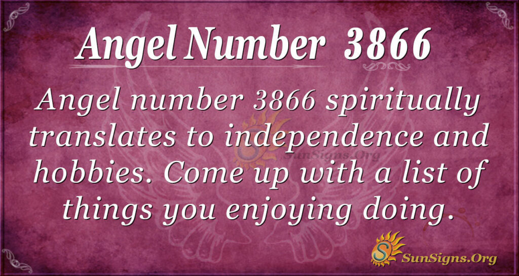 3866 angel number