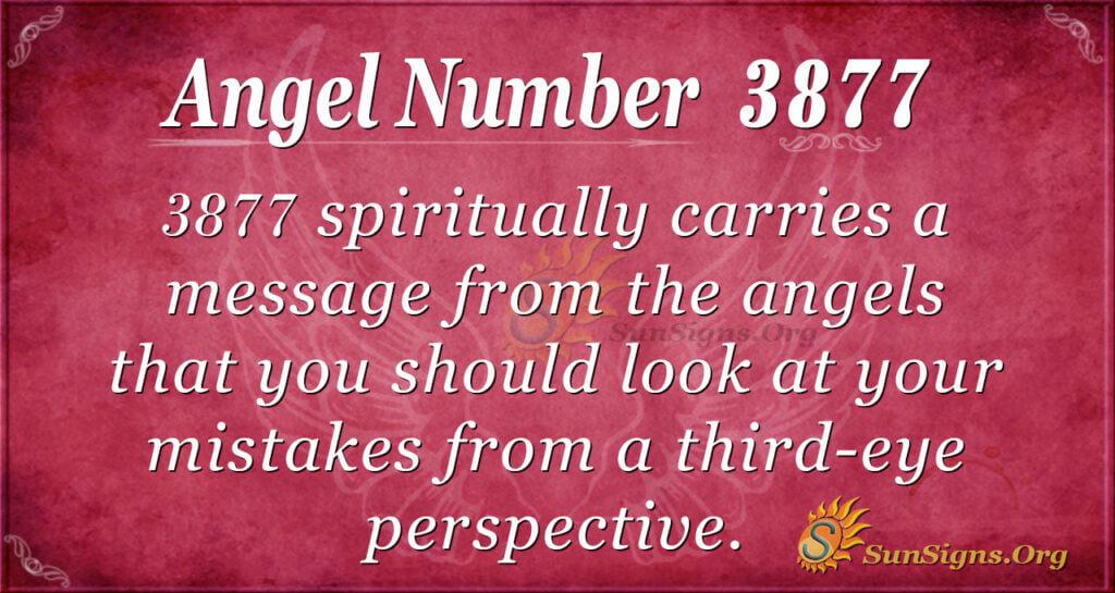 3877 angel number