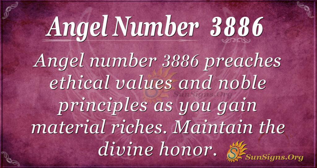 3886 angel number