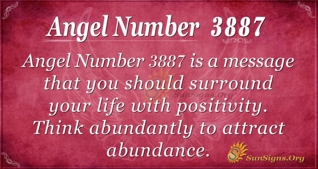 3887 angel number