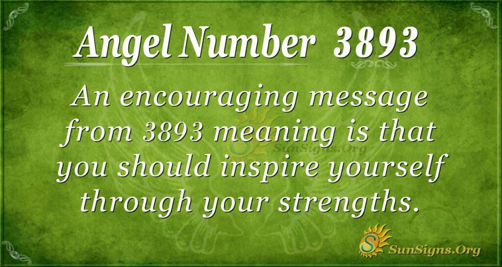 3893 angel number