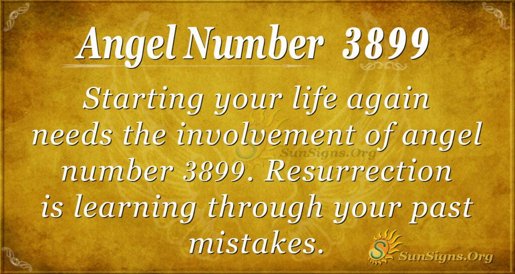 3899 angel number