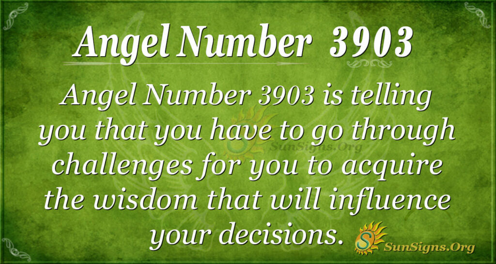 3903 angel number