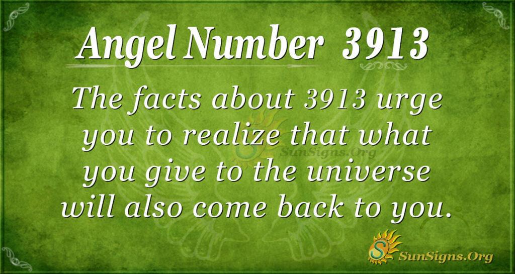3913 angel number