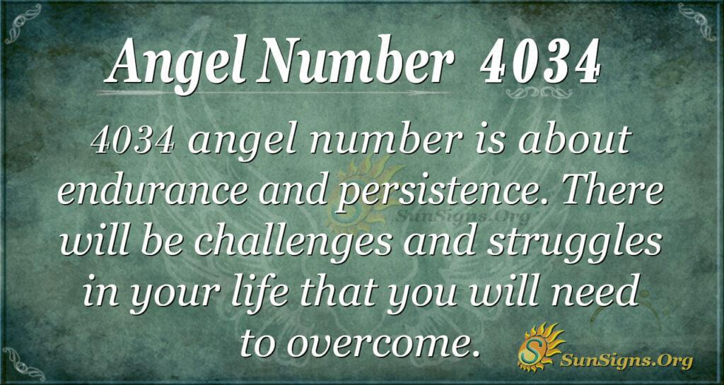 4034 angel number
