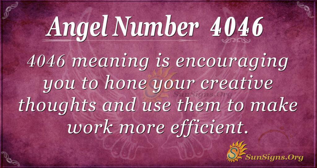 4046 angel number