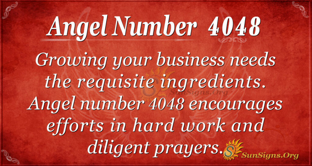 4048 angel number