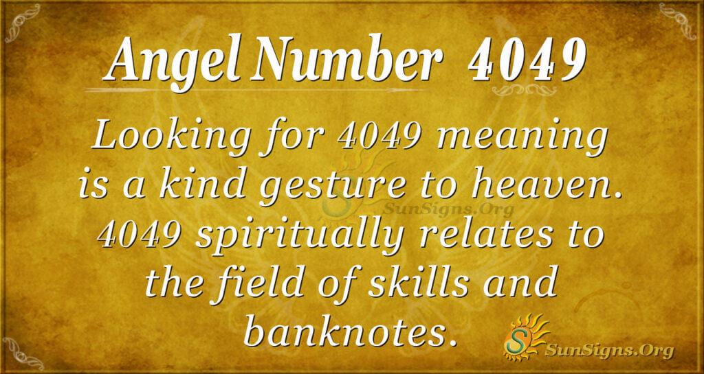 4049 angel number