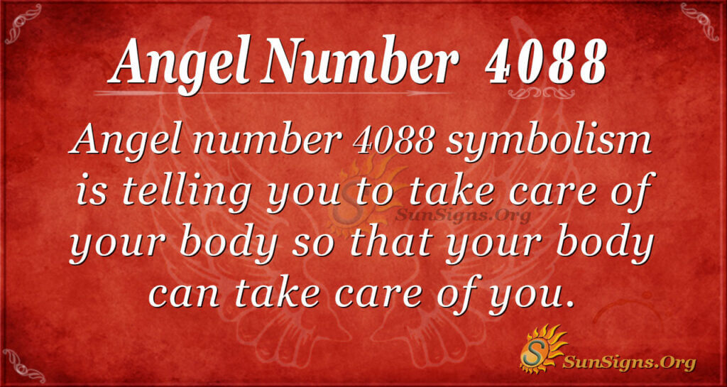 angel number 4088