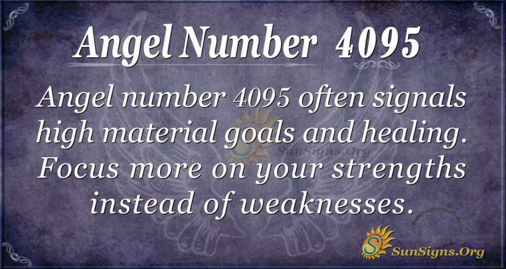 Angel Number 4095