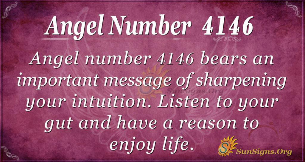 4146 angel number