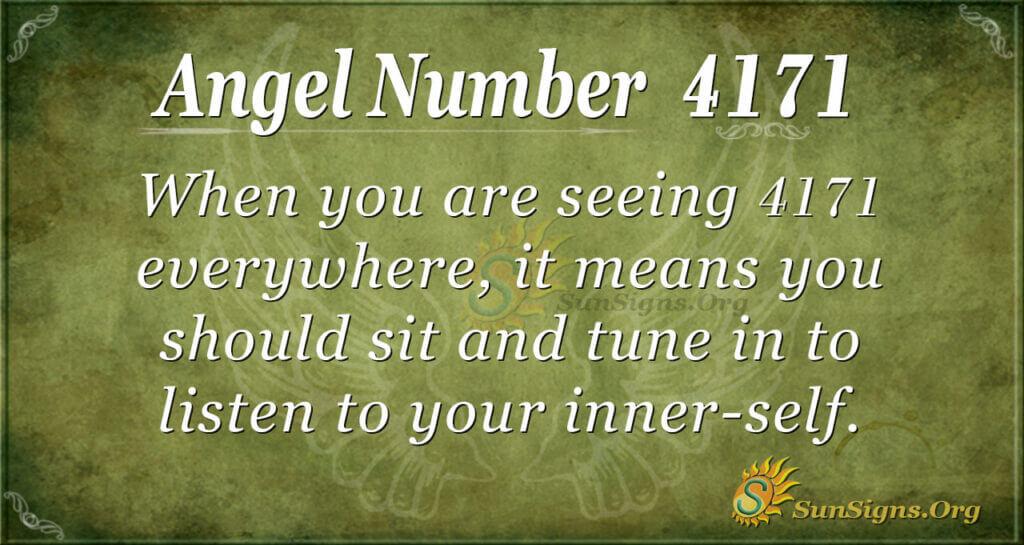 4171 angel number