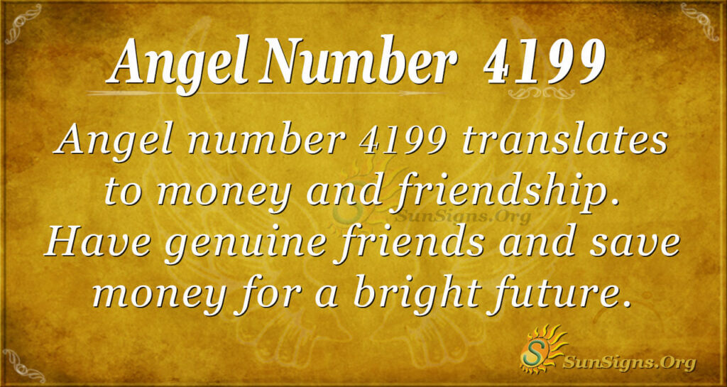 4199 angel number