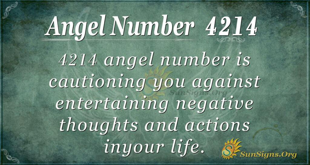 4214 angel number