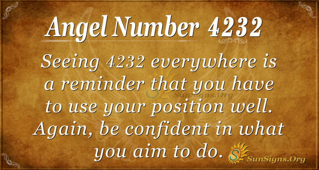 Angel Number 4232
