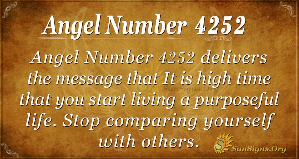 4252 angel number