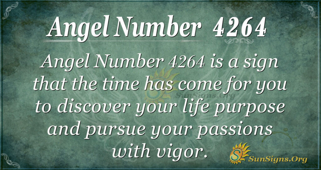Angel number 4264