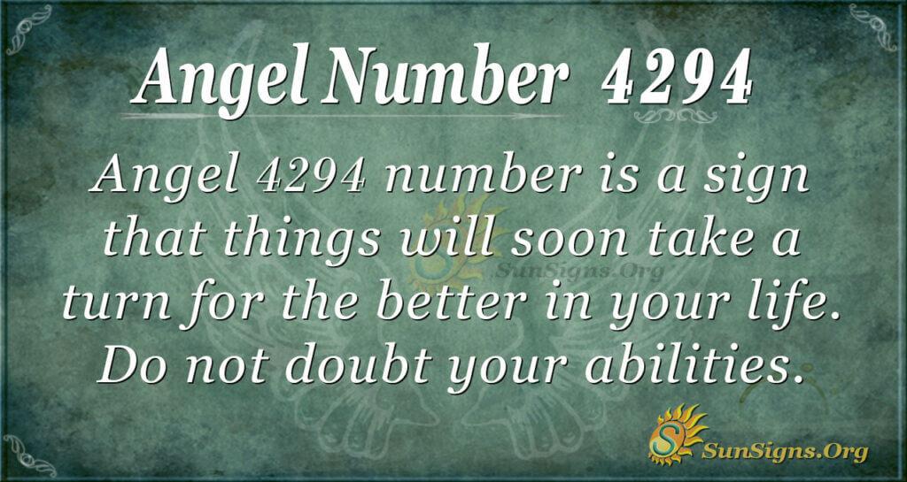 4294 angel number