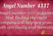 4337 angel number