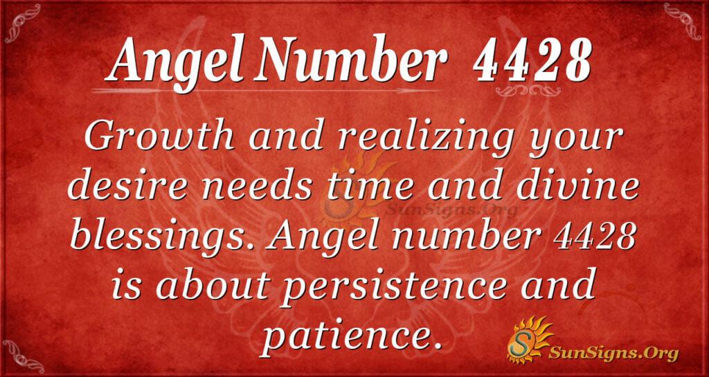 Angel number 4428