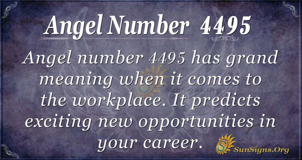 4495 angel number