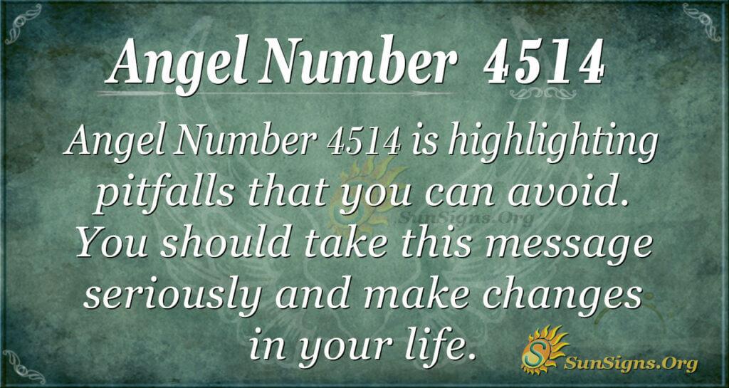 Angel number 4514