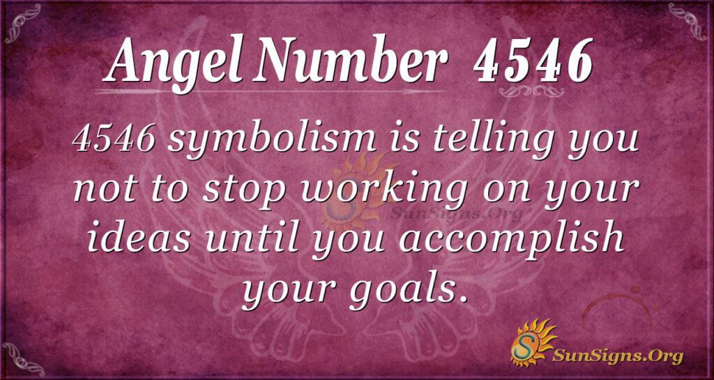 4546 angel number