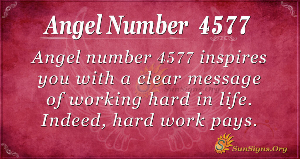 4577 angel number