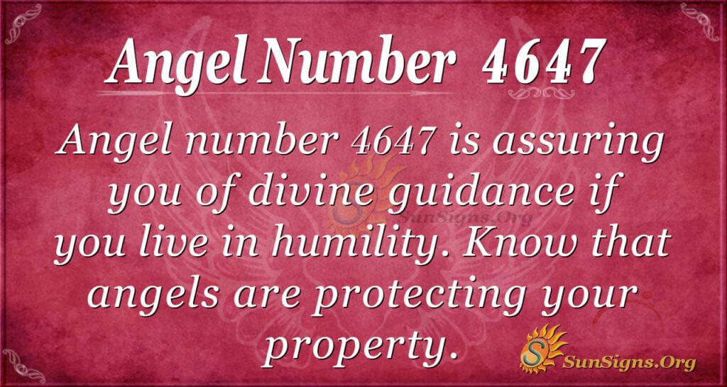4647 angel number