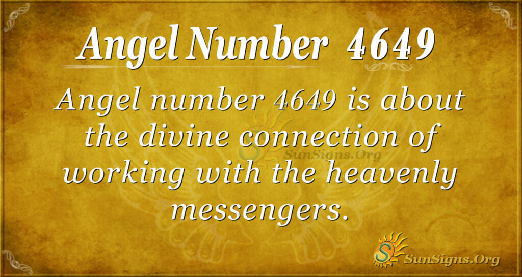 Angel number 4649