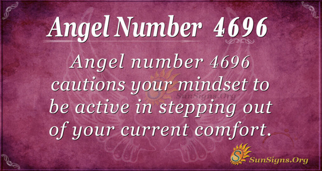 Angel number 4696