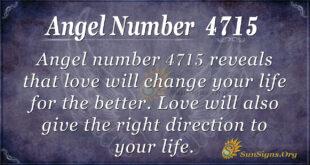 Angel number 4715