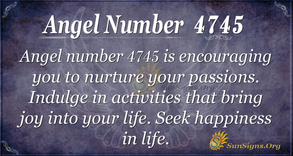 4745 angel number