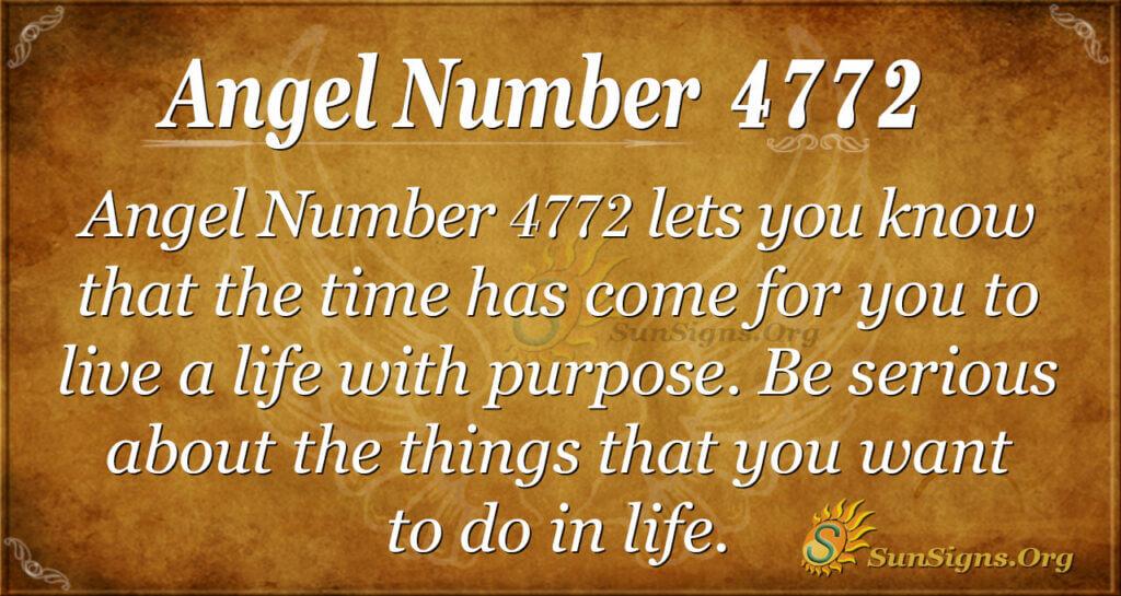 4772 angel number