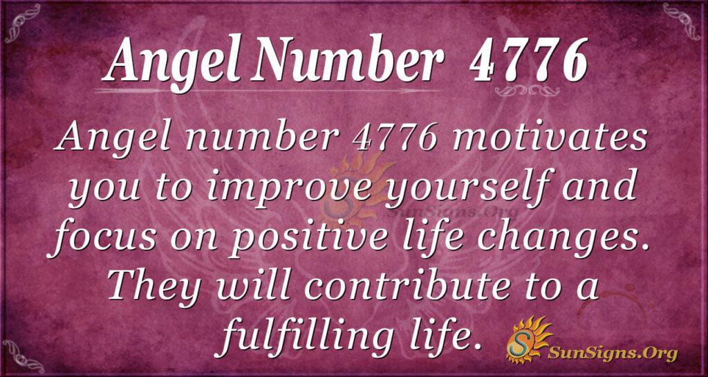 4776 angel number