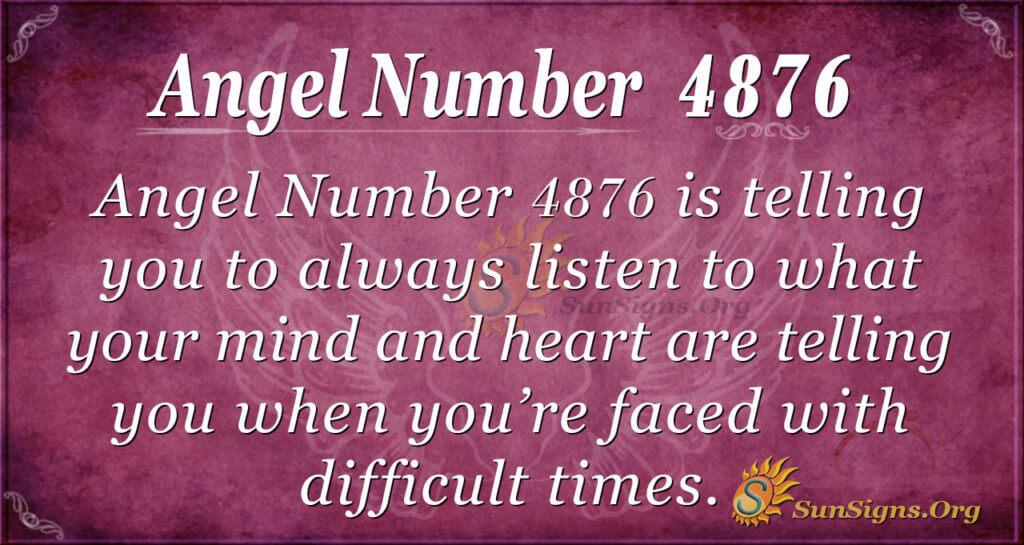 4876 angel number