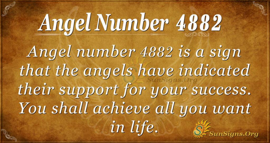 Angel number 4882