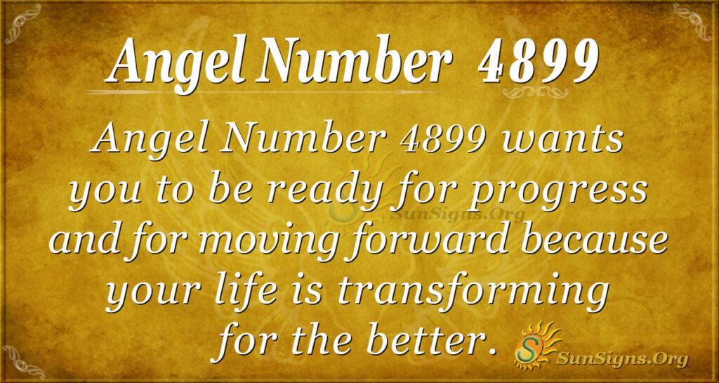 4899 angel number