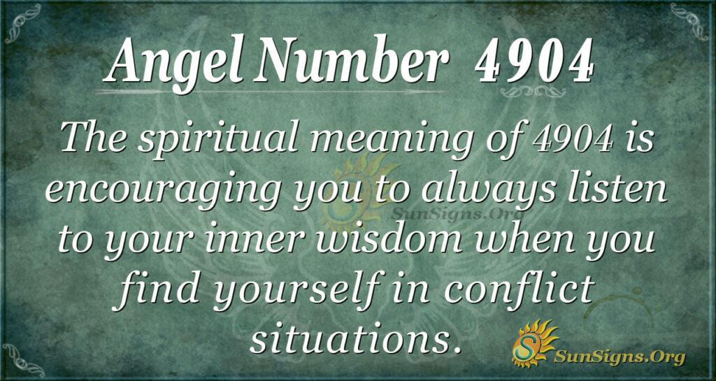4904 angel number