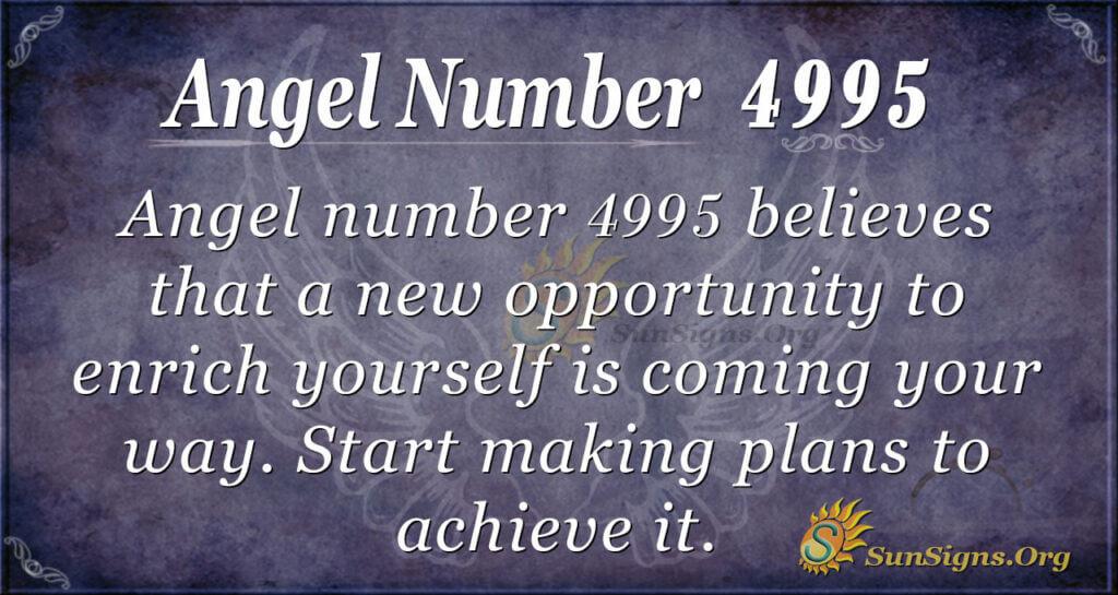 4995 angel number