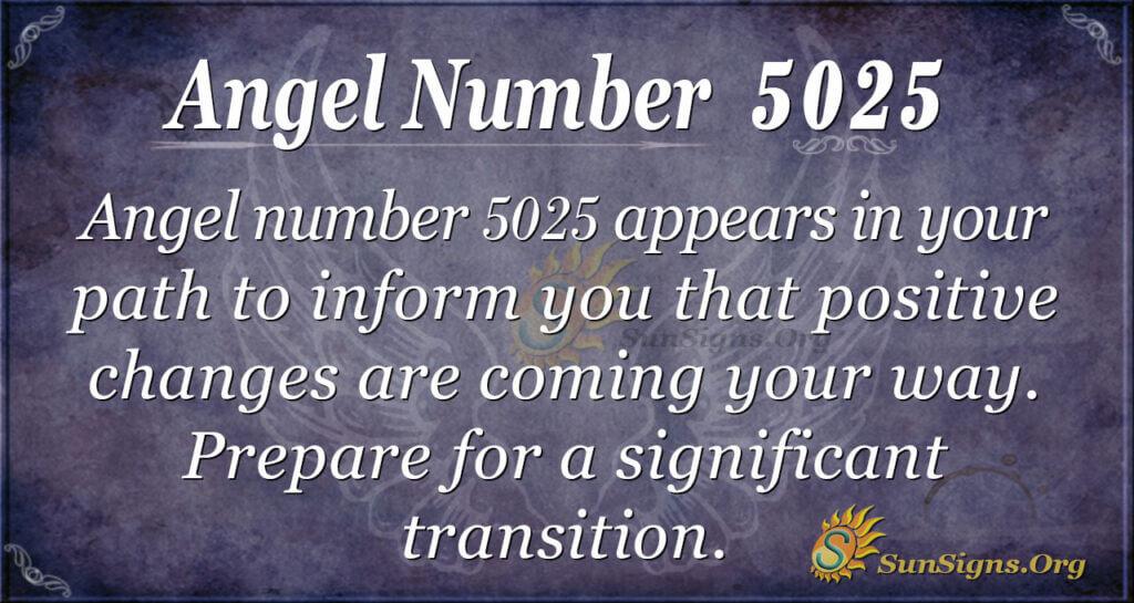 5025 angel number