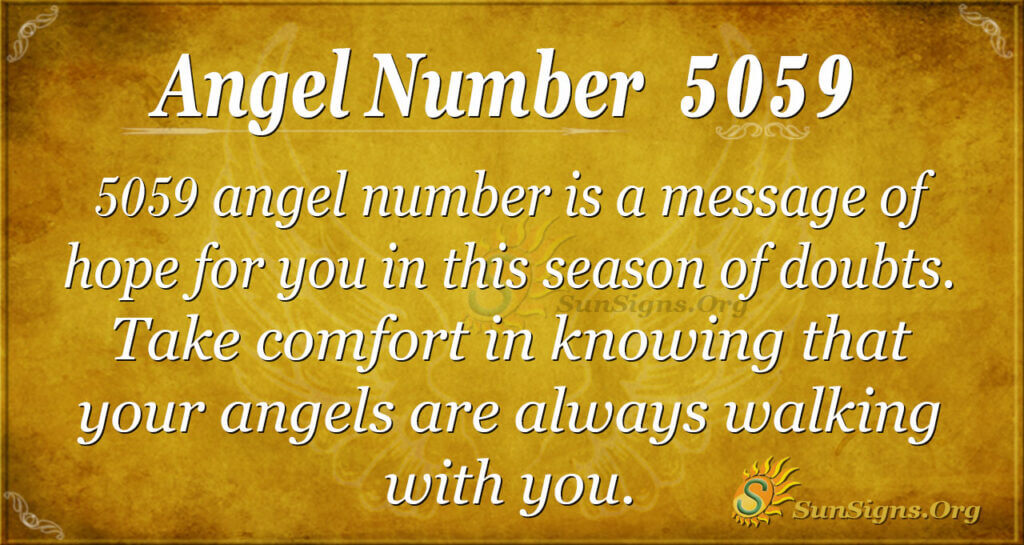 5059 angel number