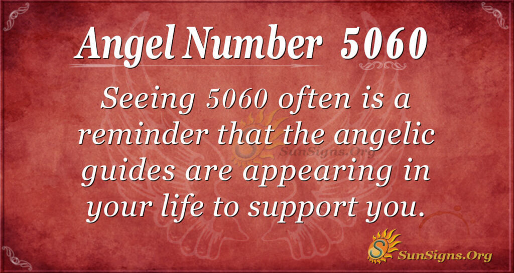 Angel Number 5060