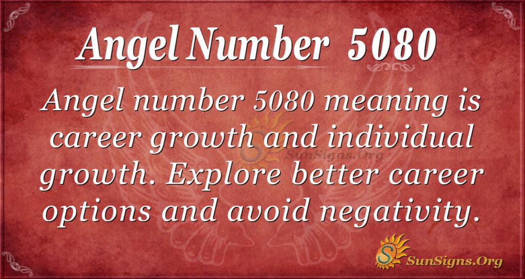 5080 angel number
