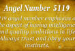 5119 angel number