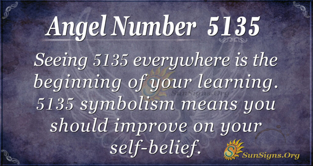 Angel Number 5135