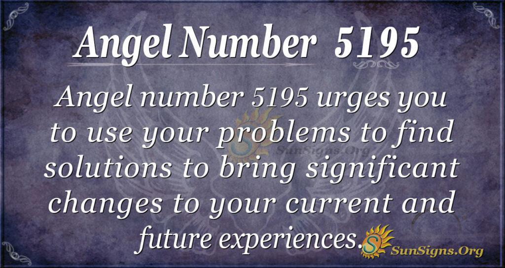 5195 angel number