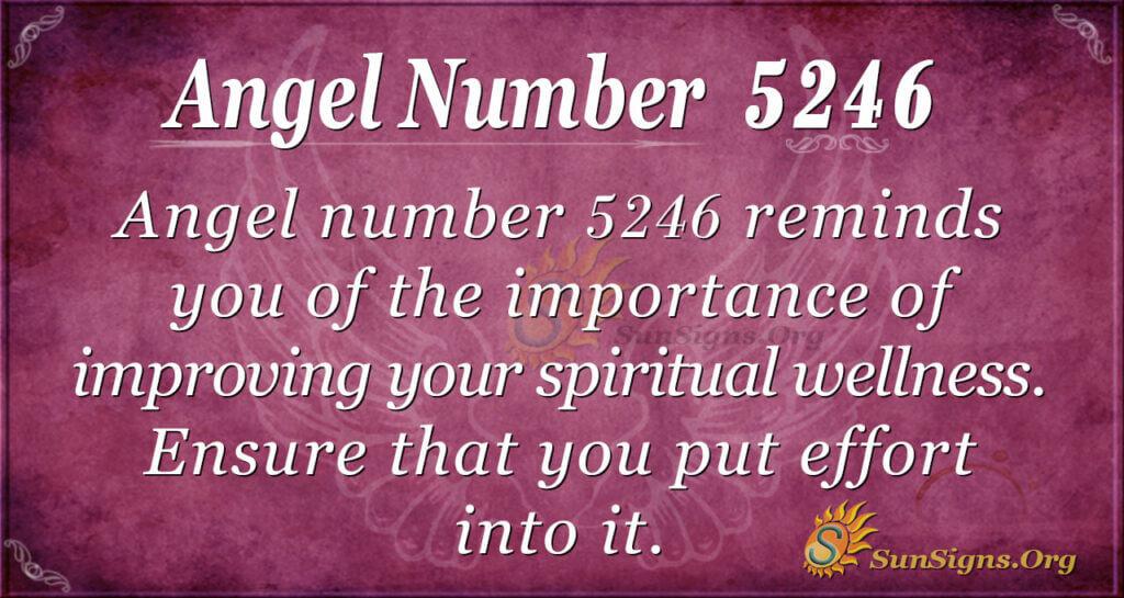 5246 angel number