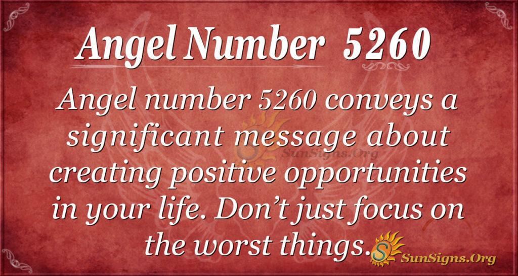 5260 angel number