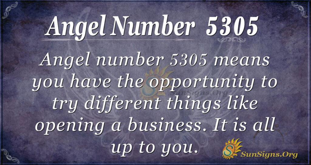 5305 angel number